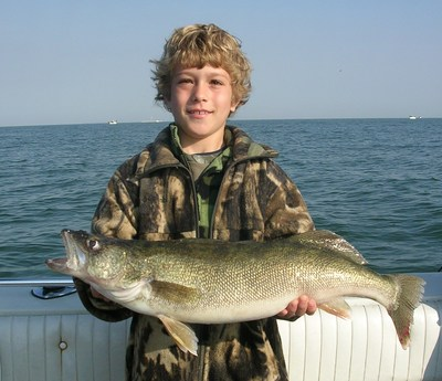 Lake erie fishing reportlake erie walleye steelhead for Lake erie walleye fishing report