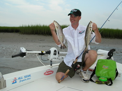 Speckled Trout love\'em too!