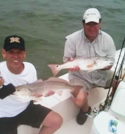 Bob and Paul with redfish