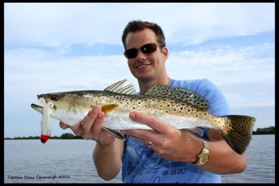 Florida Seatrout With A DOA Baitbuster