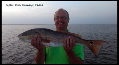 Redfish On The Indian River Lagoon