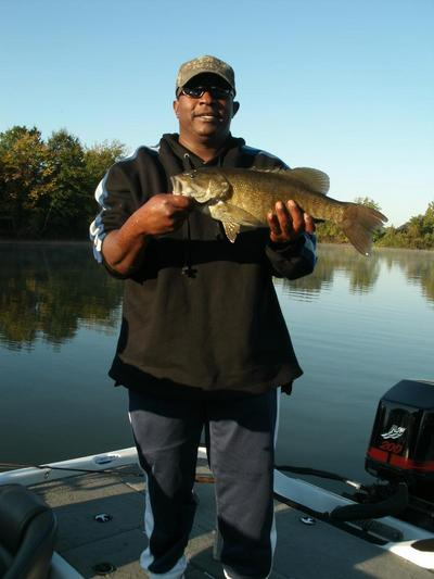 Smallmouth trophy bass during winter on alabama 39 s wilson for Pickwick lake fishing report