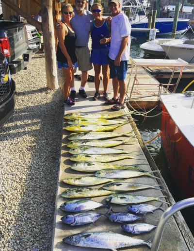 The Best Mahi Fishing in October Ever!