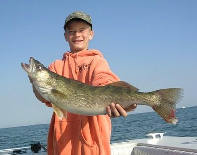 Lake erie walleye fishing for Lake erie fish species