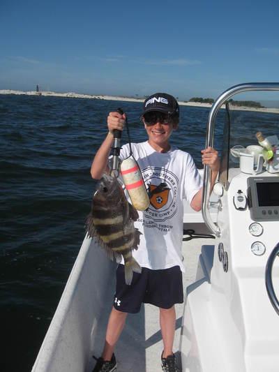 Pensacola inshore fishing guide report 4 2011 for Deep sea fishing perdido key