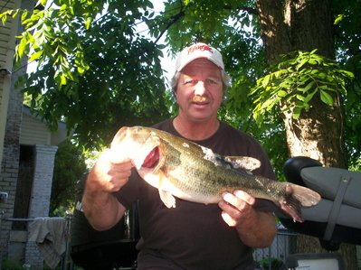 A Berkley Swim Bait fooled this Guntersville lake bass!