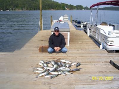 Little river weiss lake fishing report for Weiss lake fishing report