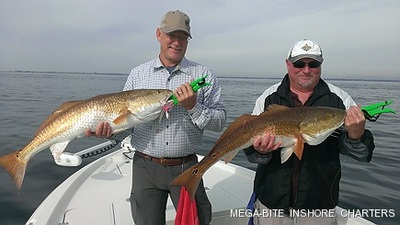 Fun in the bay with monster reds