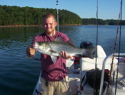 Lake allatoona fishing guides report for june 30 for Allatoona fishing report