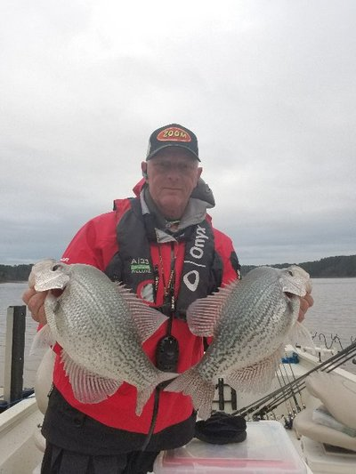 Capt Rocky with some Clark's Hill Slabs