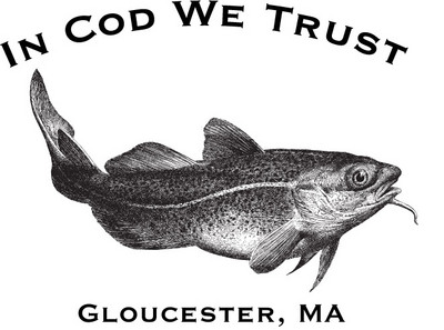 Fishing Reports  on Now In Stock In Cod We Trust T Shirt