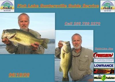 Lake Guntersville Fishing Report on Fishing Report  Lake Guntersville 6 20 09