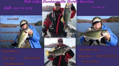 Lake Guntersville Fishing Report on Lake Guntersville Guide Service Area Reporting Lake Guntersville Bio