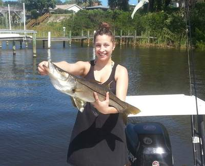 First Snook ever