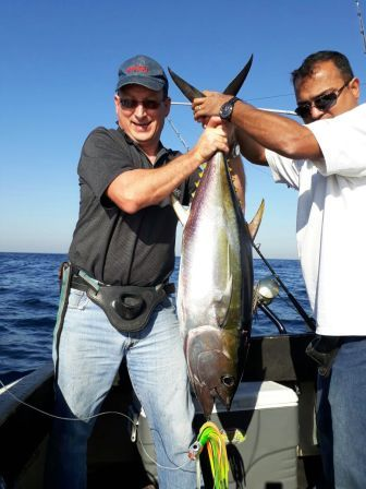 Durban Yellowfin Tuna with Blue Water Charters