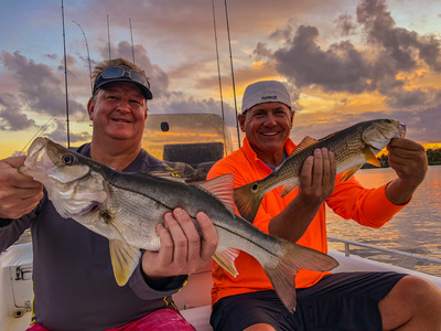 Snook and redfish