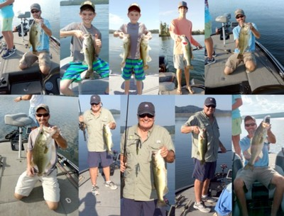 Lake Guntersville, Lake Guntersville Fishing Report, Lake Guntersville Guide Service