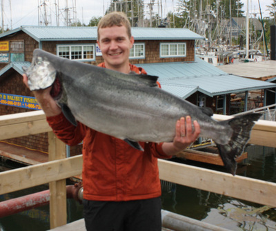 43.5 lb Chinook(King) August 2008