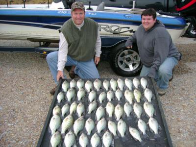 Weiss lake crappie fishing report 11 21 07 for Milford lake fishing report