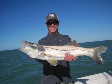 27.5-inch snook released due to being 1/2 inch short of legal