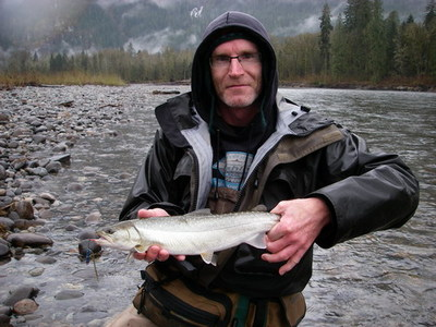 typicall Bull trout just north of Vancouver