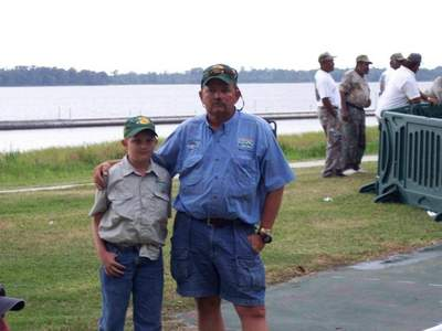 Mike Baker  and Dustin  Baker #1 fishing partners