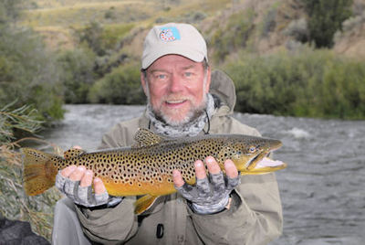Capt. Rick Grassett Beaverhead River fly brown trout