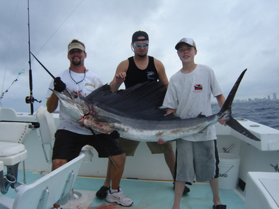 Big Sailfish just before release