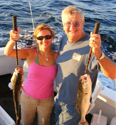 Erin and Ray with their fish...