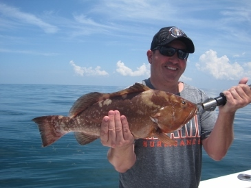 22-inch keeper red grouper