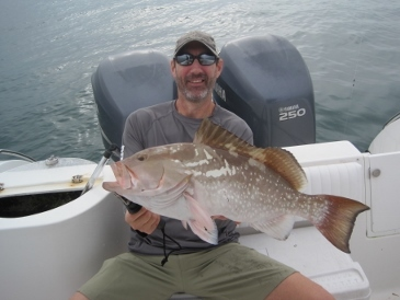 27-inch red grouper