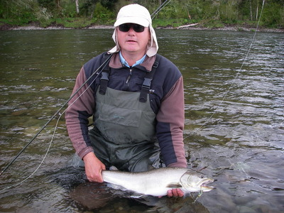 fat Bull trout get caught in April