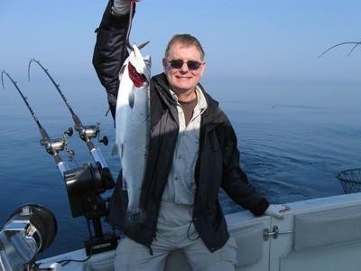 Milwaukee fishing lake michigan salmon report 7 21 09 for Milwaukee charter fishing