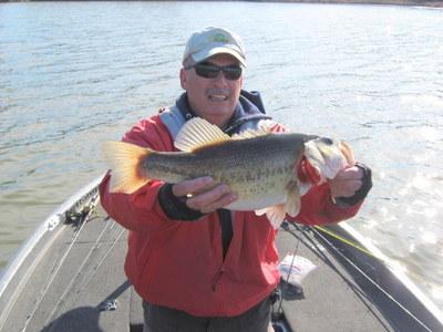Fishing report lake guntersville 1 30 11 for Fish at 30 lake