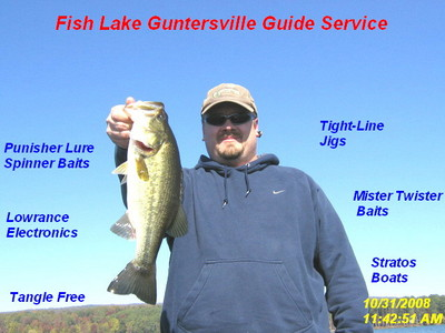 Fishing report lake guntersville for Fishing report lake guntersville