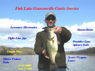 Guntersville Fishing Report on Fishing Report Lake Guntersville 2 15 09