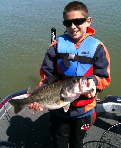 Lake Ray Roberts guide report - Dannie Golden