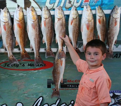 Fresh water and big lake for Joe joslin fishing report