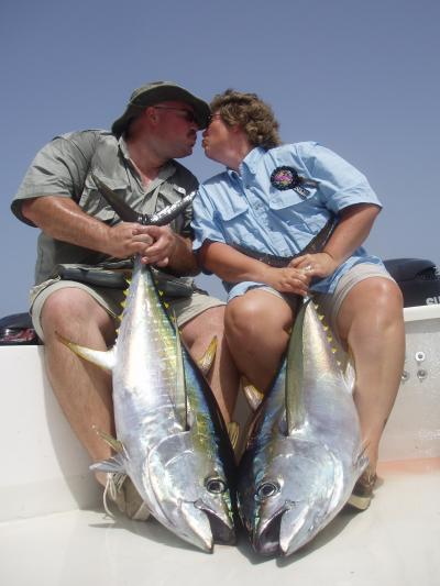 Pure Bliss-Jason and Karen Double Up on Yellowfin