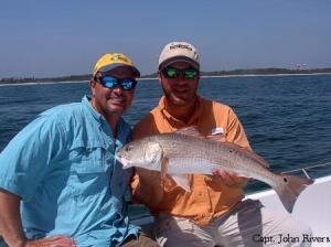 Mark was all smiles when he landed this keeper Redfish !
