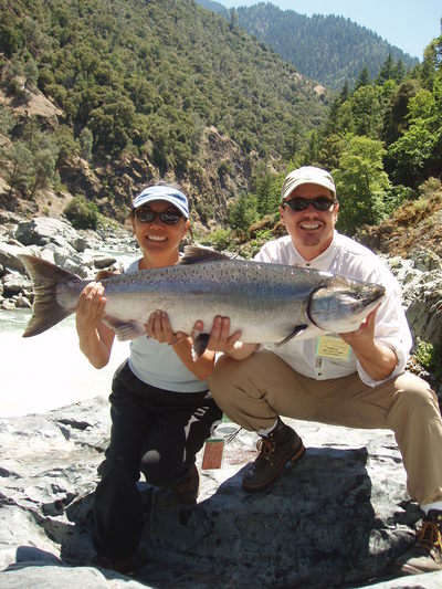 Trinity river fishing guides salmon report for Trinity river fishing