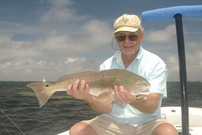 Wes Demmon's Sarasota Bay CAL jig red caught with Capt. Rick Grassett.