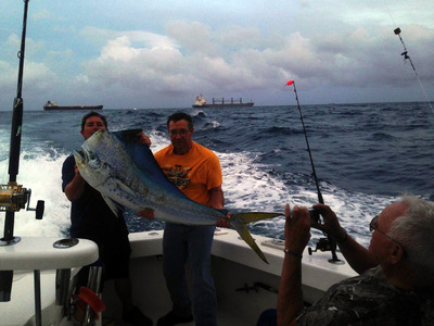 50 pound mahi-mahi caught in Ft Lauderdale
