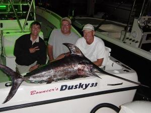 Richards gang caught 3 swordfish