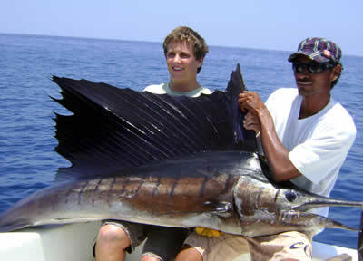 Tamarindo deep sea fishing