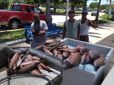 Miami Beach Snapper Fishing!