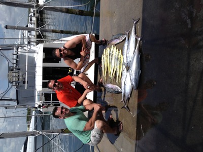 There a nice catch of Mahimahi!