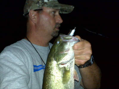 night fishing at Uvas