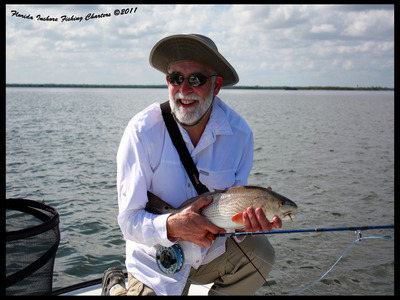 Mosquito Lagoon Redfish On Fly