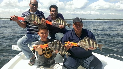 Four sheepshead on at once is always fun!